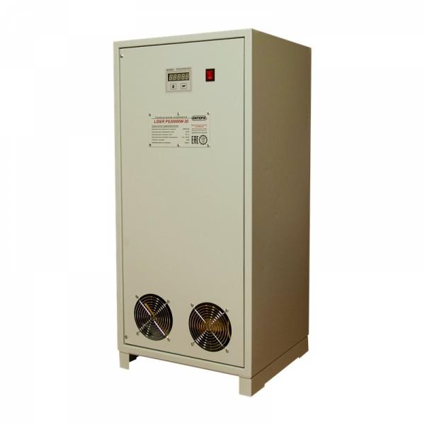 Однофазный стабилизатор Lider PS 20000W-30