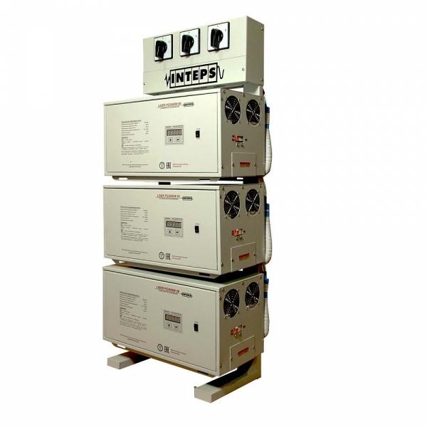 Трехфазный стабилизатор Lider PS 9SQ-C-15