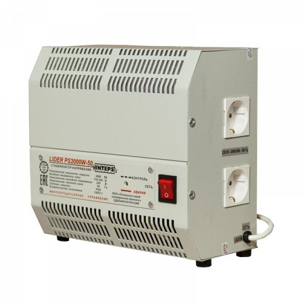 Однофазный стабилизатор Lider PS 2000W-30