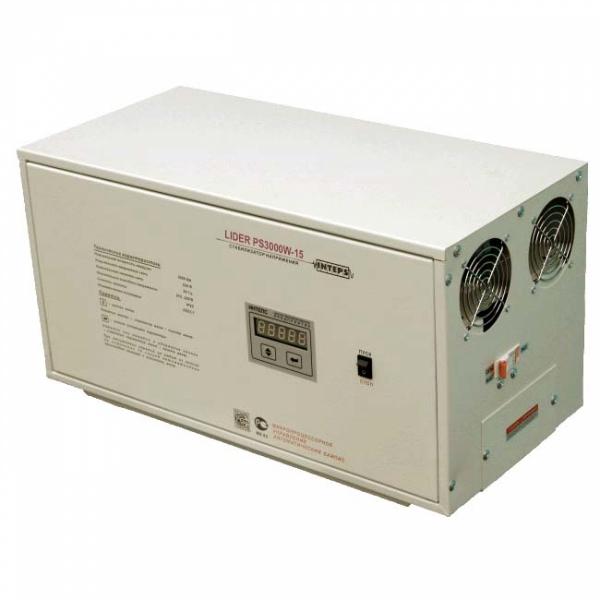 Однофазный стабилизатор Lider PS 3000W-15