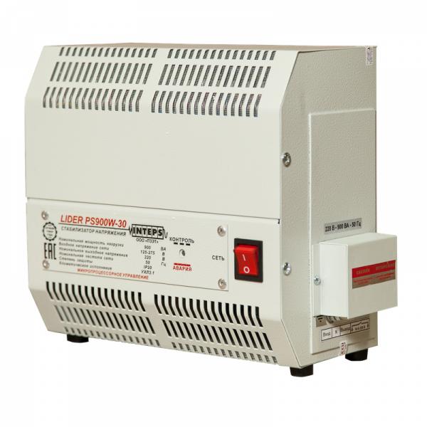 Однофазный стабилизатор Lider PS 1200W-30-K