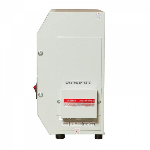 Однофазный стабилизатор Lider PS 1200W-30-K, вид справа